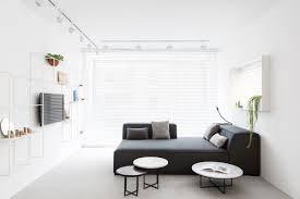 minimalistic apartment a minimalist monochromatic apartment in tel aviv design milk