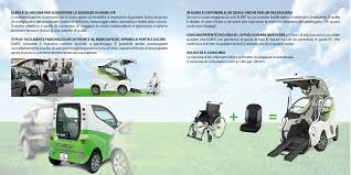 si e auto b elbee auto hi tech per disabili per guida in carrozzina e un passeggero