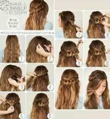tutorial kepang rambut frozen abby condit abbycondit on pinterest