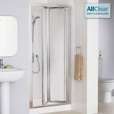 Shower Door 700mm Lakes Classic Framed Bi Fold Shower Door 700mm Lk1b070 05