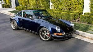 1990 porsche 911 blue meet the man who daily drives a porsche reimagined by singer