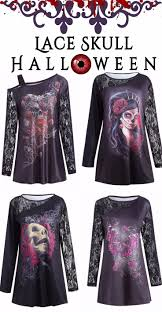 Plus Size Halloween Shirts by Best 25 Lace Skull Ideas On Pinterest Lace Sleeve Tattoos