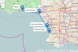 Expo Line Santa Monica Map Transportation David Bailey