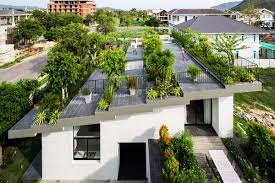 dreamy rooftop garden covers breezy modern house in vietnam curbed