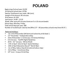 comparing school system bulgaria beginning of school year end of