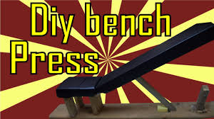 Workout Bench Plans Diy Bench Press Adjustable Bodybuilding Youtube