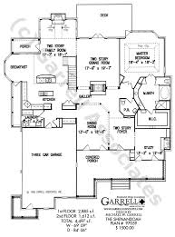 country farmhouse floor plans shenandoah house plan colonial house plans