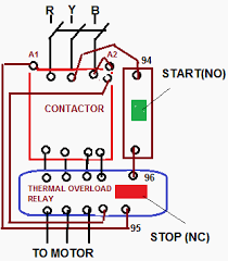 electrical drawing of d o l starter u2013 the wiring diagram