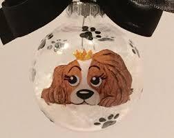 cavalier ornament etsy