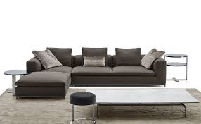 b b italia sofa modular sofa contemporary leather fabric michel club b b