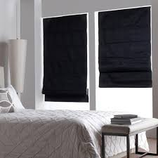 White Roman Shade Create A Peaceful Ambient With Roman Shades Interior Design