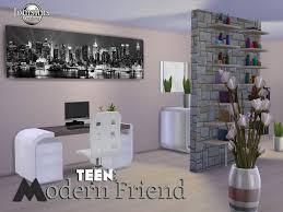 salle de bain ado adolescent sims 4