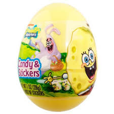easter eggs surprises buy spongebob egg with candy stickers american food shop