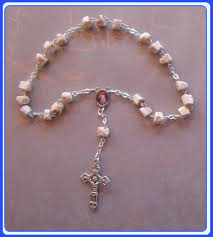 medjugorje rosary medjugorje rock peace chaplet rosary rock rosary of our of