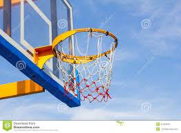 closeup of basketball hoop stock photo image 42422640