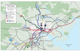 Bwi Airport Map Central Maryland Tod Strategy Report Maps Reconnecting America