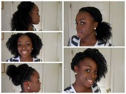 quick and easy hairstyles for medium natural hair hairtechkearney