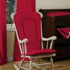 vintage red rocking chair cushion u2013 plushemisphere
