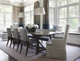 espresso wood dining table with tolix chairs cottage dining room