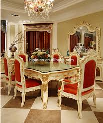 luxury french rococo style angel dining table set antique palace