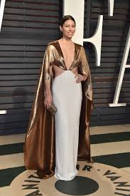 Vanity Fair Oscar Party Jessica Biel In Ralph Lauren At The Vanity Fair Oscar Party The