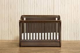 Mayfair Convertible Crib Mayfair 4 In 1 Convertible Crib Rustic Brown Baby Logic