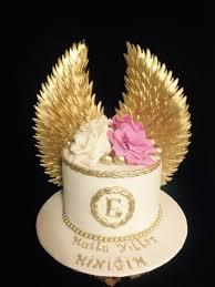 Angel Decorated Cake Angel Wings Cake Angel Cake Designs Pinterest Angel Wings
