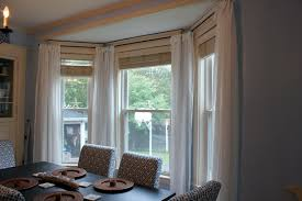 our cottage on the coast make your own bay window treatment bay