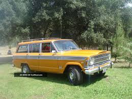 jeep wagon for sale 1972 jeep wagoneer information and photos momentcar