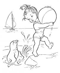 11 coloring pages images coloring books beach