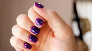 27 tantalizing zebra nail designs 推酷