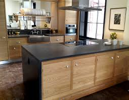Kitchen Hood Island by Furniture Chic Kitchen Island With Waterfall Countertop And