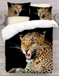 Leopard Print Duvet Animal Print Duvet Covers U0026 Sets 3d