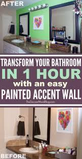 beautiful bathroom update u2014 in a day soccer mom blog