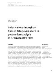 postmodern themes in film inclusiveness through art films in pdf download available