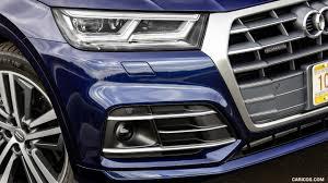 Audi Q5 Blue - 2018 audi q5 tfsi quattro color navarra blue headlight hd