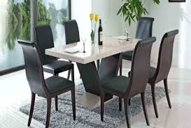 dining chairs black wing back dining chair with round glass