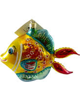 here s a great price on laved italian ornaments fish gold and teal