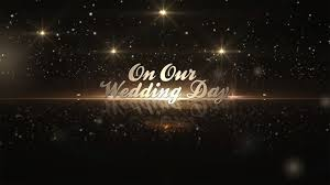 Adobe After Effects Title Templates Free after effects template golden wedding pack
