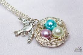 necklace charm diy images Beautiful diy bird nest necklace in under 30 minutes jpg