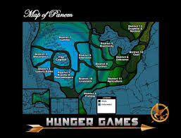 Seattle Districts Map by Sparklife The Lost Districts Of Panem