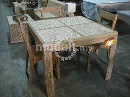 eucalyptus wood dining table aipj teak and eucalyptus wooden dining table furniture