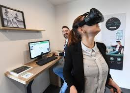 cuisine aurillac un casque de réalité virtuelle pour acheter sa cuisine équipée