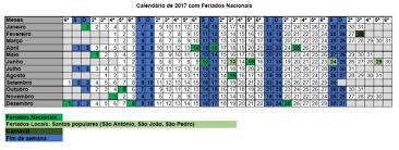Calendario 2018 Feriados Portugal Calendá De Feriados 2017 Para Portugal Economias