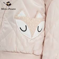 usd 113 94 r minipeace jacket short pink jacket fox pocket