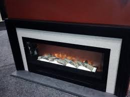 inspirations electric fireplace with mantel artificial