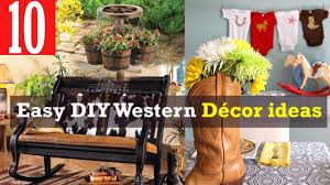 easy diy western decor youtube