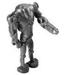 amazon lego star wars minifigure battle droid blaster