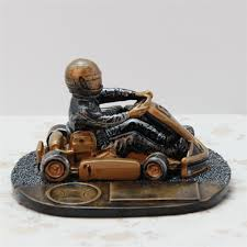 resin racing car trophy ornaments modern decoration great craft