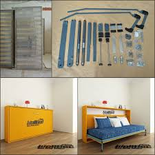 Queen Size Murphy Bed Kit Wall Bed Murphy Bed Mechanism Hidden Wall Bed Hardware Kit Buy